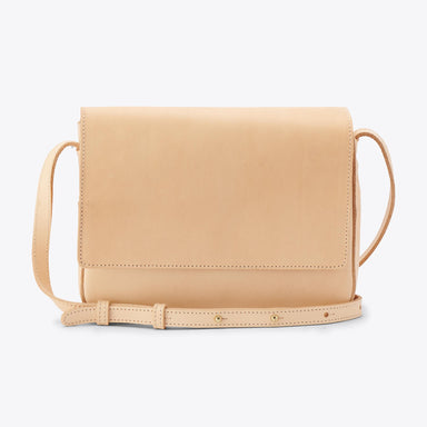 Nisolo - Clara Crossbody Purse Natural Vachetta