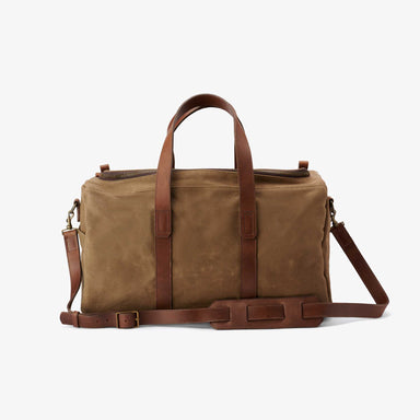 Nisolo - Luis Weekender Waxed Canvas
