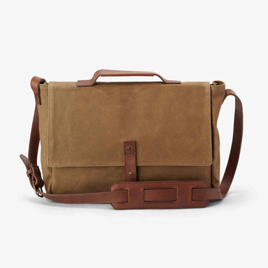 Nisolo - Loreto Messenger Bag Waxed Canvas