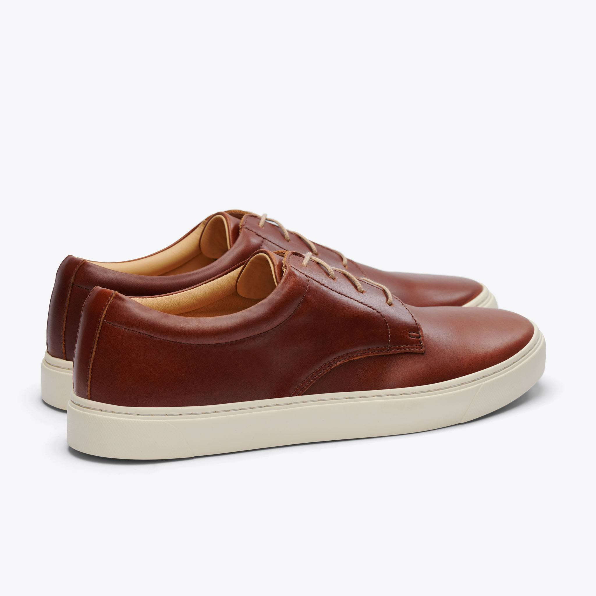 Nisolo - Diego Low Top Sneaker Brandy