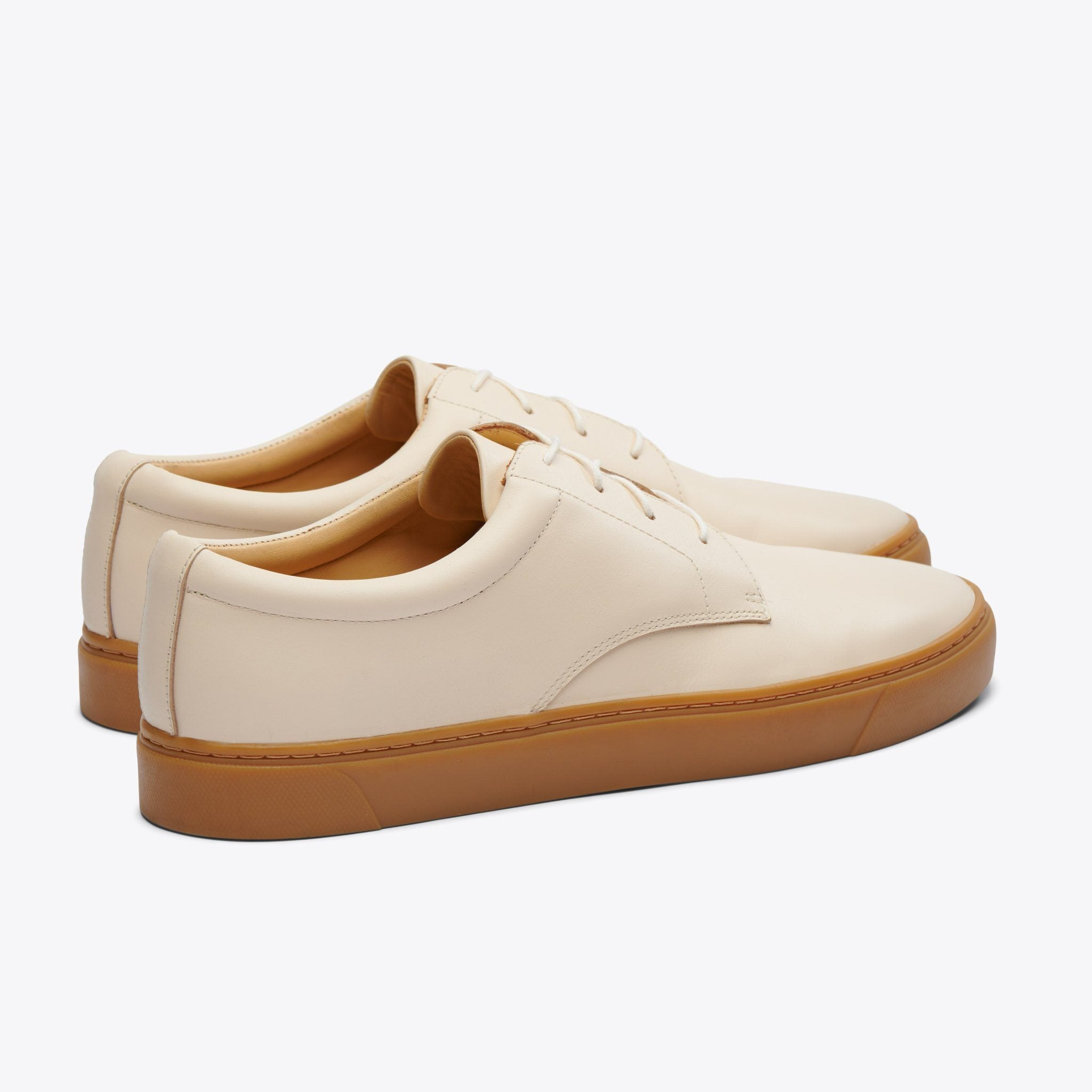 Nisolo - Diego Low Top Sneaker Bone/Gum