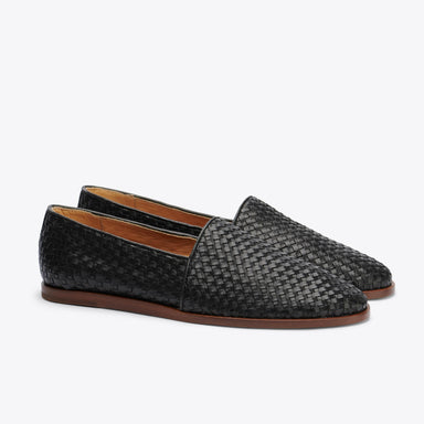 Nisolo - Alejandro Slip On Woven Black