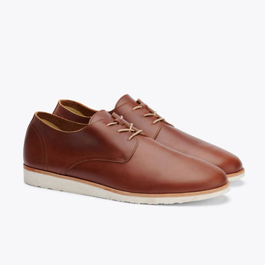 Nisolo - Lightweight Flex Derby Brandy
