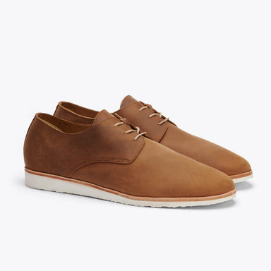 Nisolo - Lightweight Flex Derby Tobacco