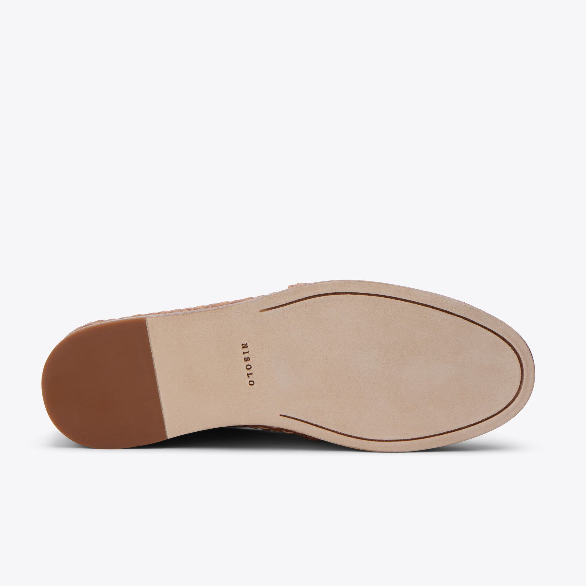 Nisolo - Alejandro Woven Slip On Brown