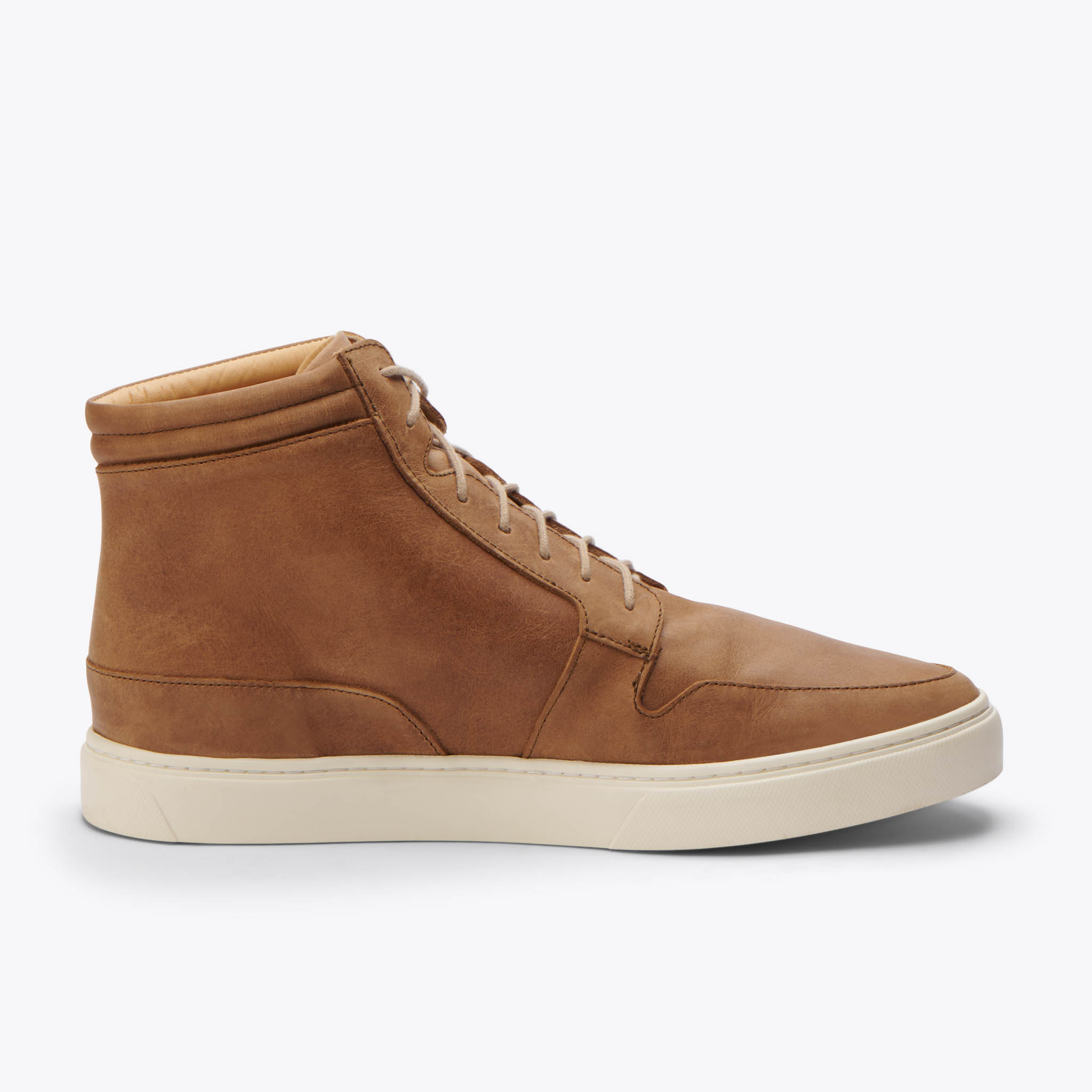Nisolo - Rey High Top Sneaker Tobacco