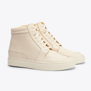 Nisolo - Reina High Top Sneaker Bone