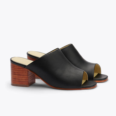 Nisolo - Paloma Open Toe Mule Black