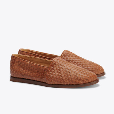 Nisolo - Mara Woven Slip On Brown