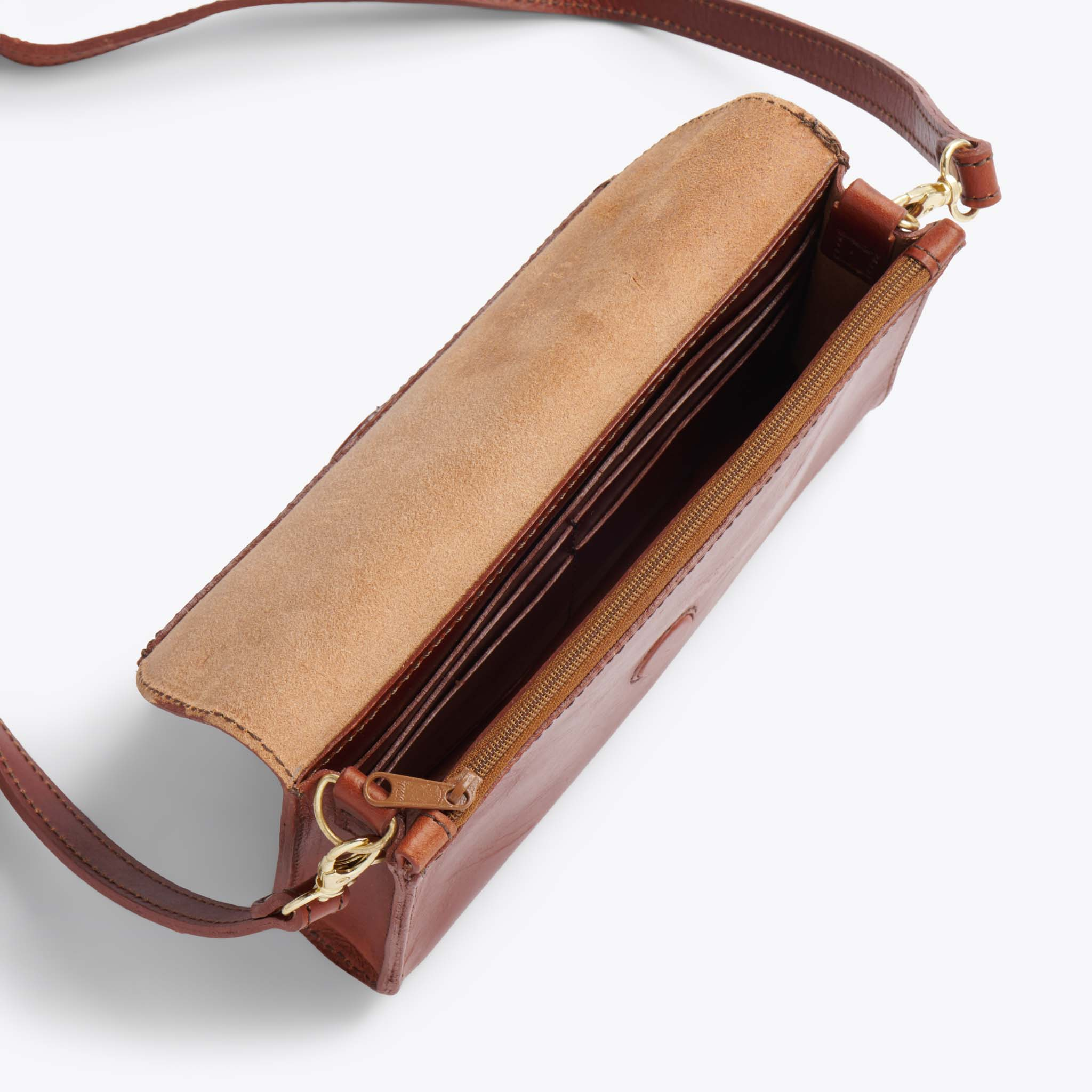 Nisolo - Cleo Convertible Clutch Rosewood