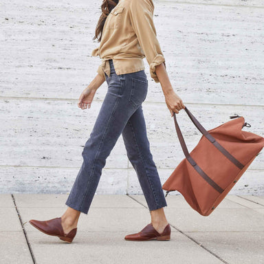 Nisolo - Canvas Weekender Amber
