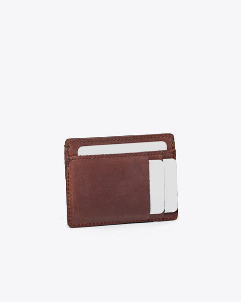 Card Holder Wallet Brown