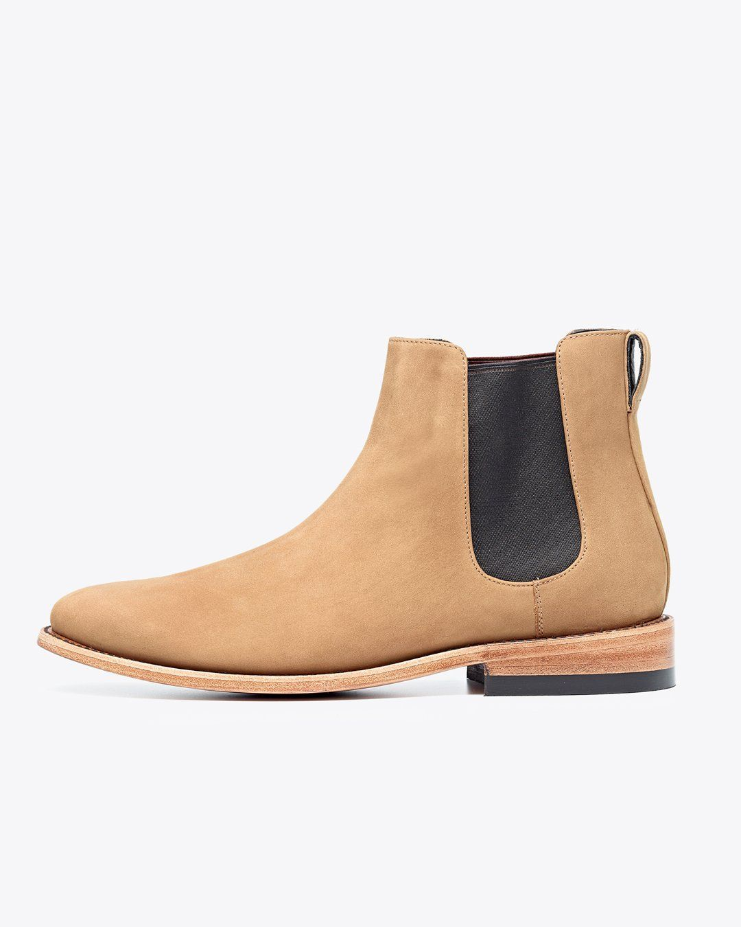 a48a73d266ee9 Nisolo Men's Chelsea Boot Stone | Ethically Made