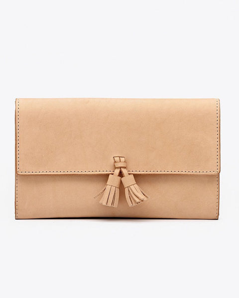 Clutch Wallet Natural Vachetta | FINAL SALE