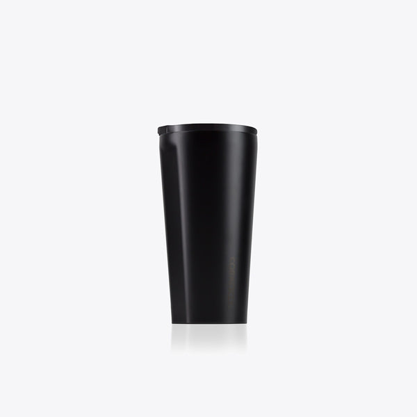 Corkcicle 16oz Dipped Tumbler Black Corkcicle