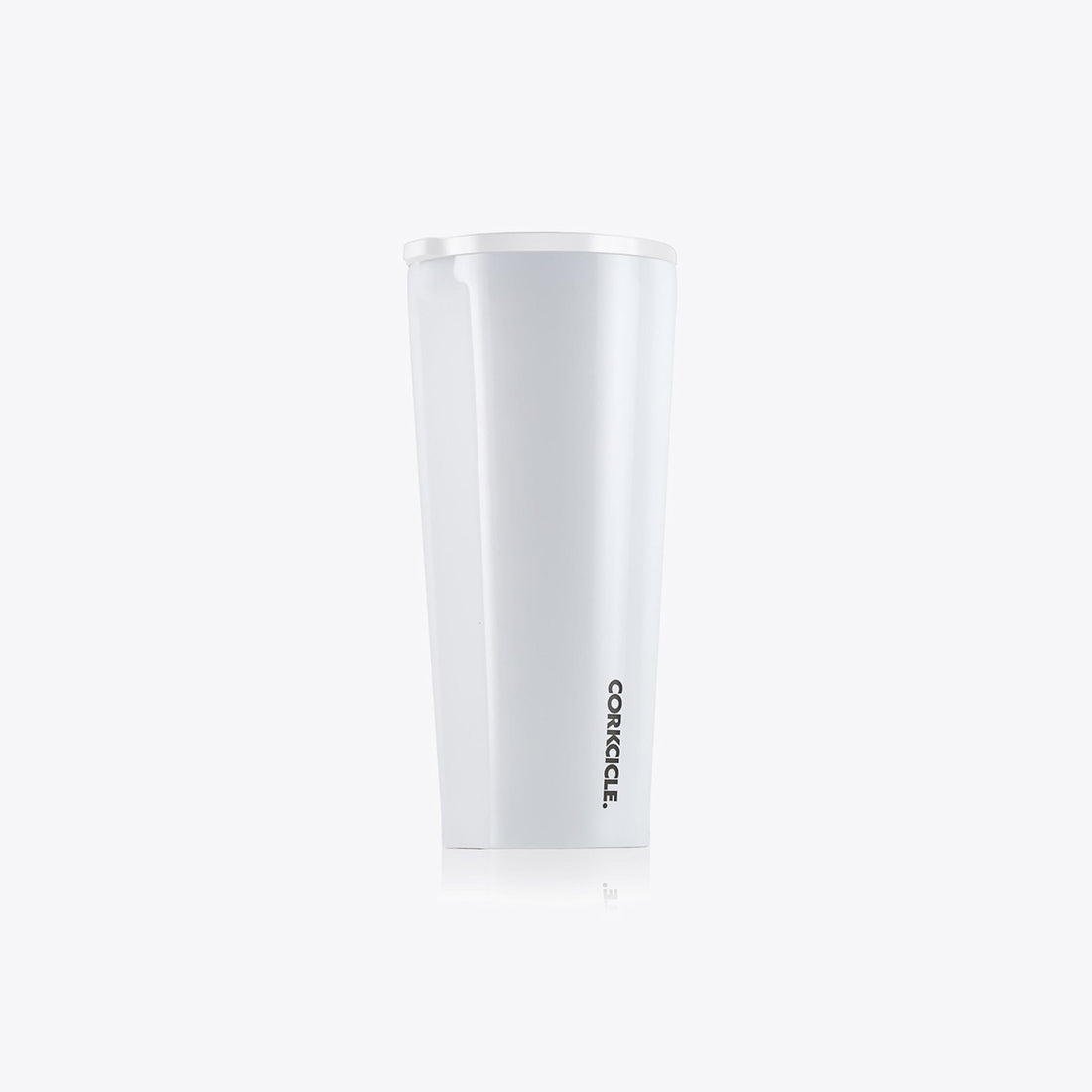Corkcicle 24oz Dipped Tumbler White Corkcicle
