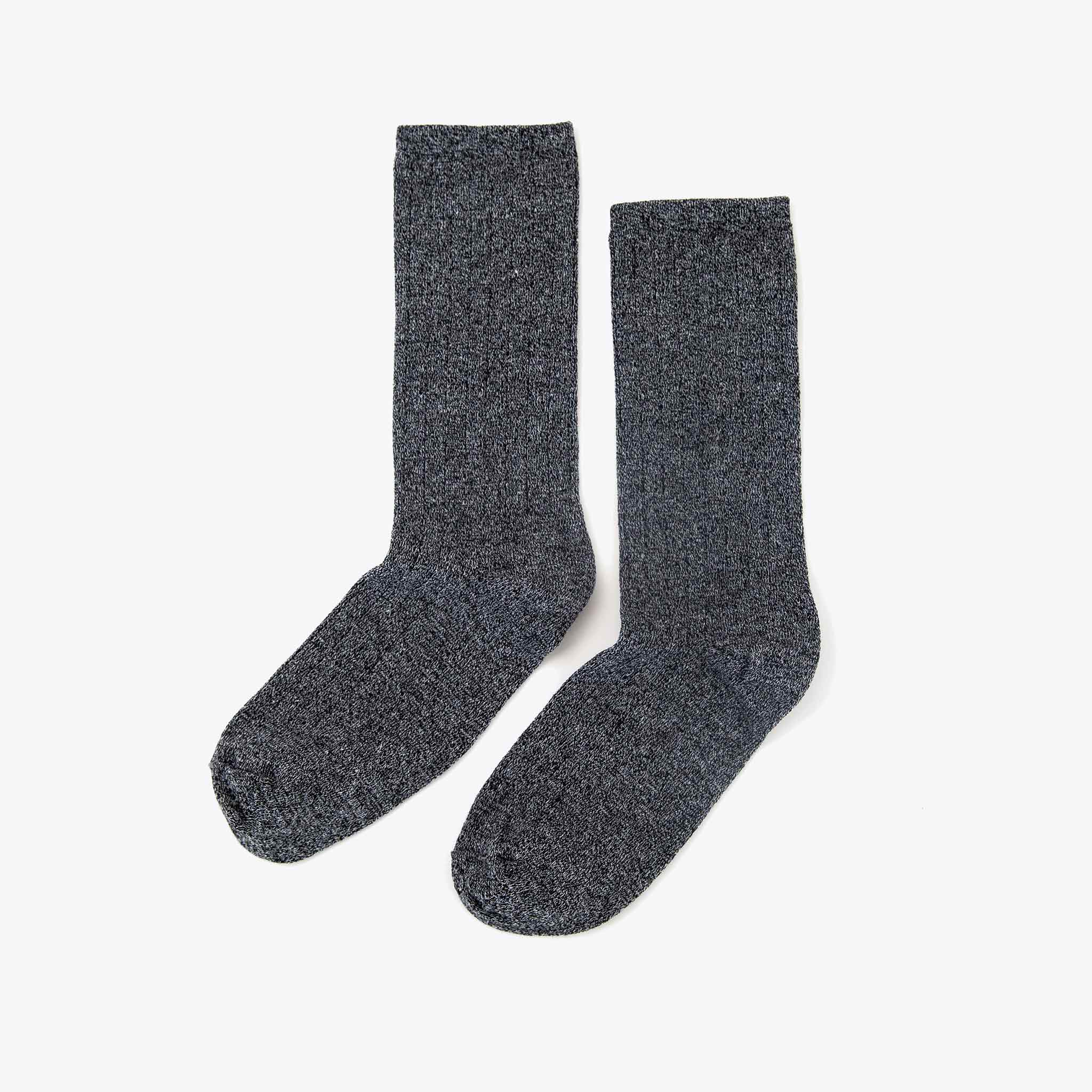 Nisolo - Cotton Crew Sock Grey