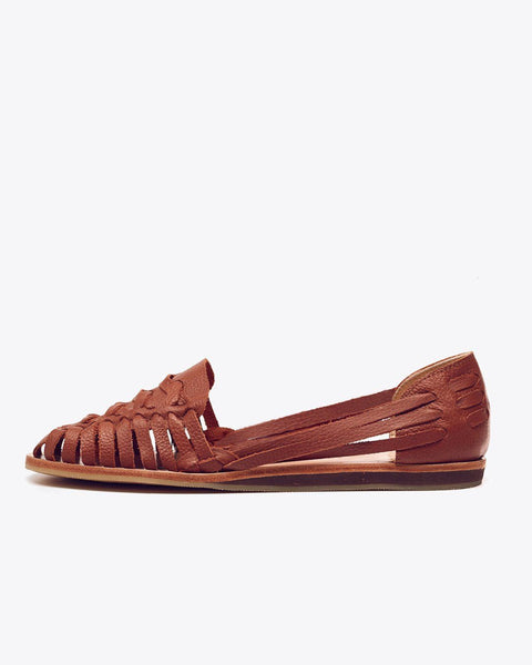 Ecuador Huarache Sandal Burnt Sienna | Exchange Only