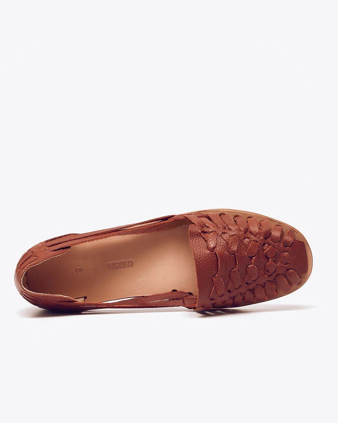Ecuador Huarache Sandal Burnt Sienna | Exchange Only Women's Leather Sandal Nisolo
