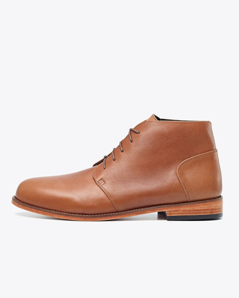 Emilio Chukka Boot Saddle Brown