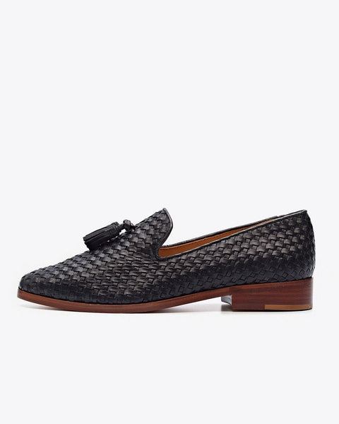 Frida Loafer Woven Black