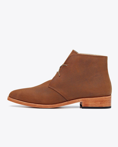 Isa Boot Light Oak