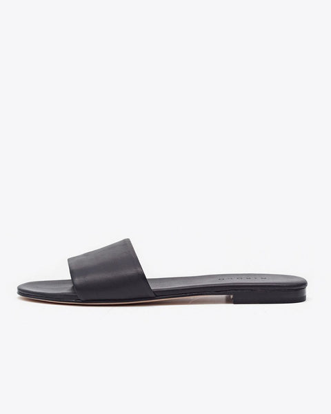 Isla Slide Sandal Black