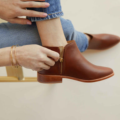 Nisolo - Lana Ankle Boot Brandy