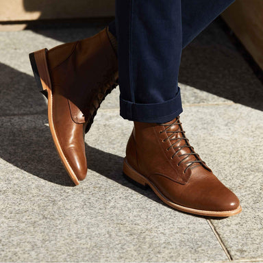 Nisolo - Luciano Boot Saddle Brown