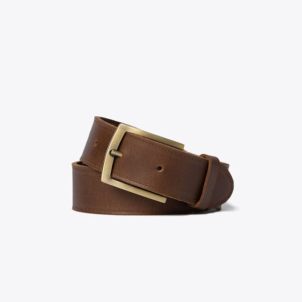 Owen Belt Brown Leather Belt Nisolo