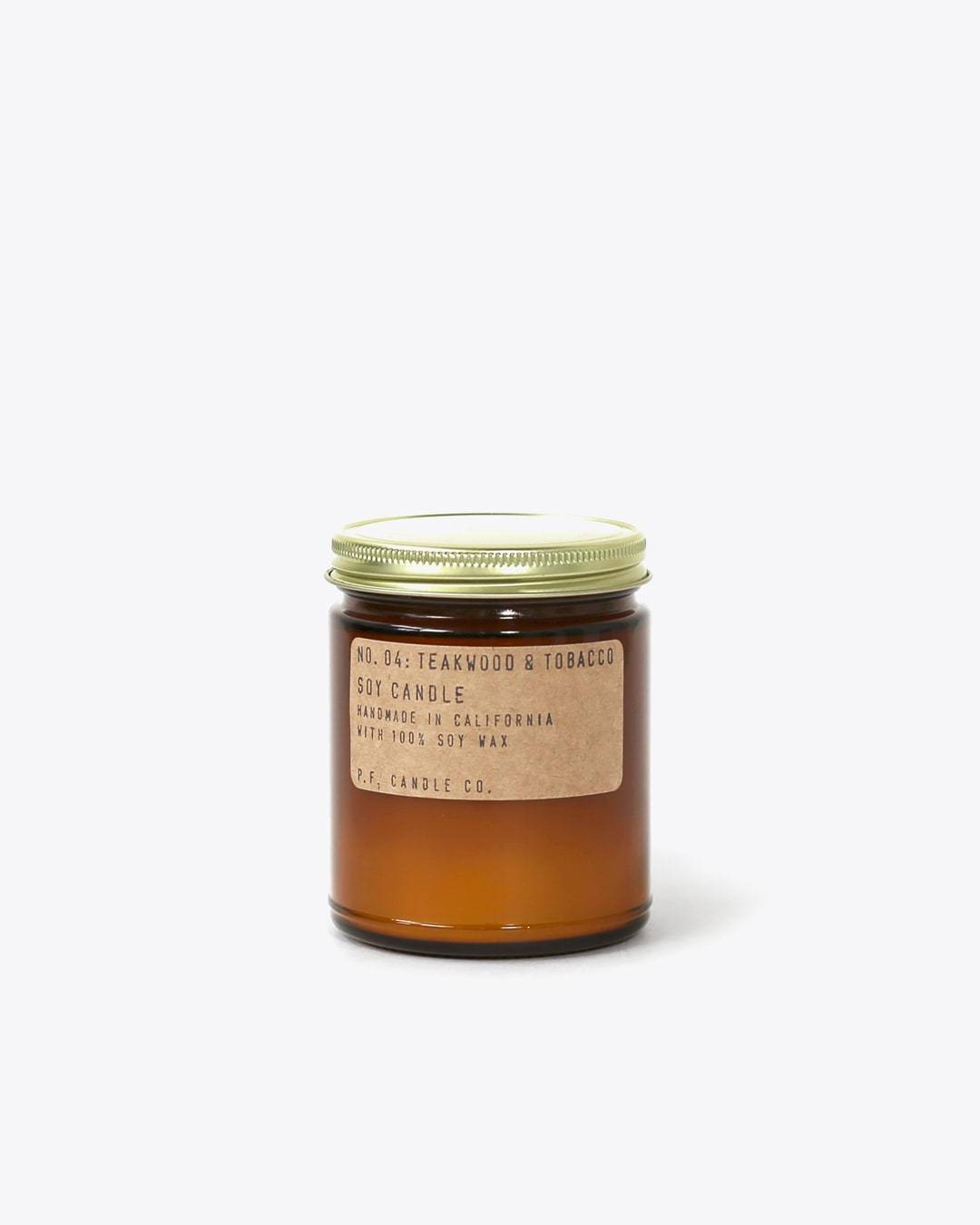 P.F. Candle Co. Standard Candle Teakwood + Tobacco P.F. Candle Co.