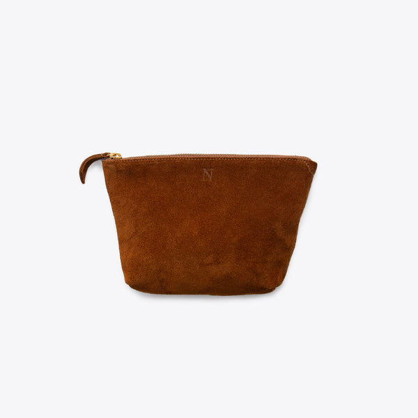 Rosa Pouch Nutmeg Leather Clutch Nisolo