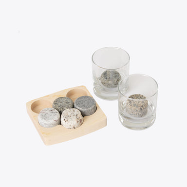 Nisolo - Sea Stones Whiskey Glass Set
