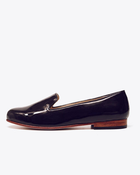 Smoking Shoe Patent Leather