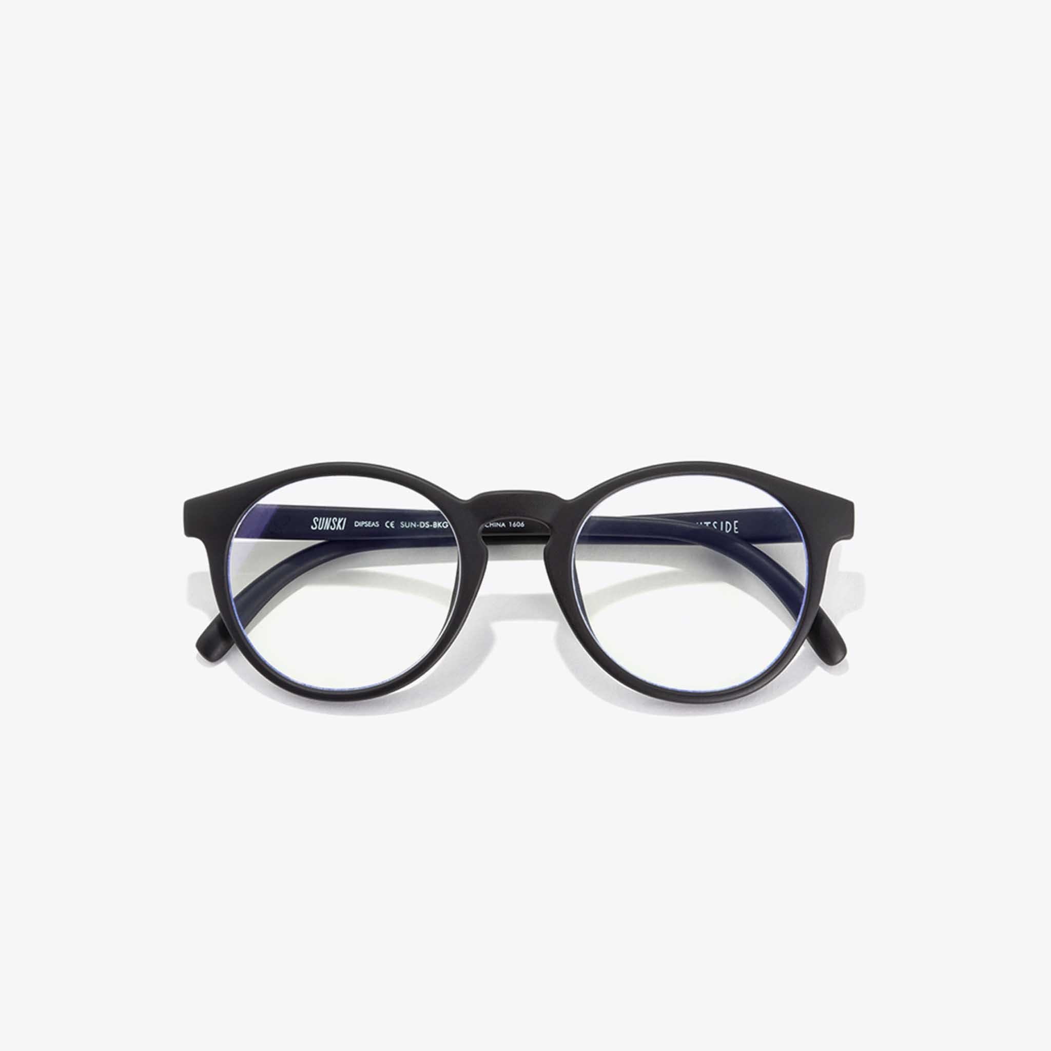 Nisolo - Sunski Blue Light Glasses Dipsea Black Slate