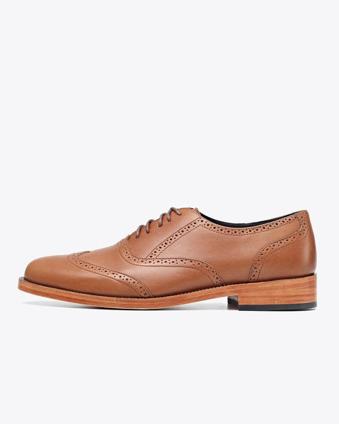 Taylor Wingtip Saddle Brown