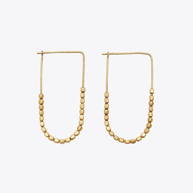 Nisolo - Tiny Brass Bead Earrings