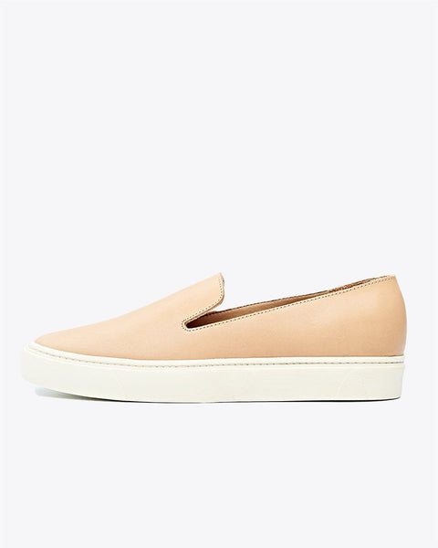 Luna Slip On Sneaker Natural Vachetta