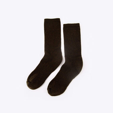 Nisolo - Wool Crew Sock Brown
