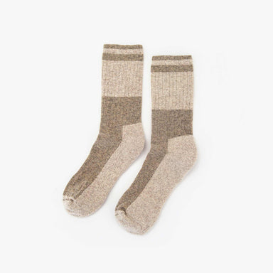 Nisolo - Wool Crew Sock Tan/Sand