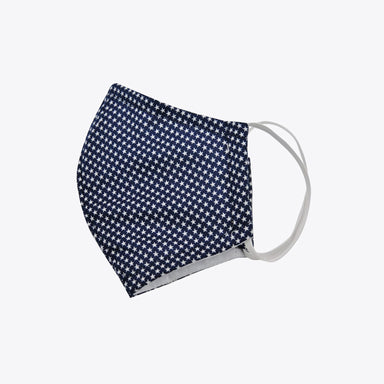 Nisolo - Kids Cotton Mask - Navy Stars
