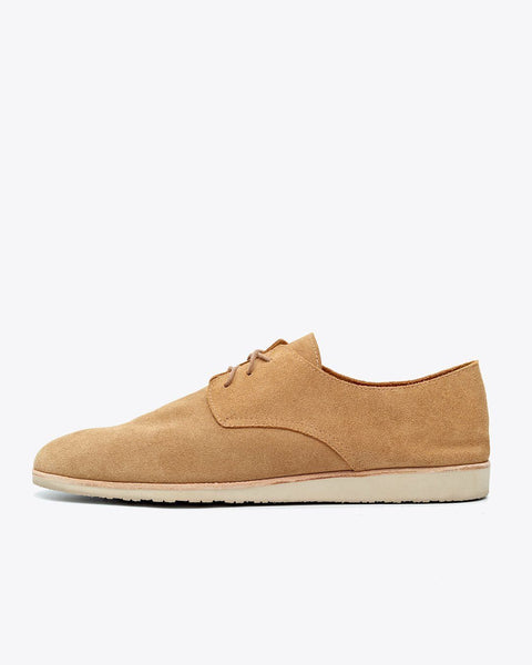 Nisolo x Huckberry Travel Derby Tan