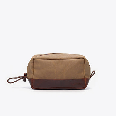 Nisolo - Durango Dopp Kit Waxed Canvas