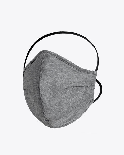 Everyday Filtered Mask - Grey Masks Proper Cloth