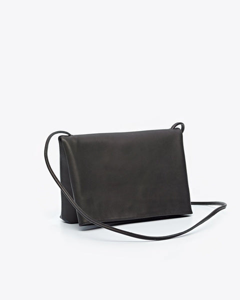 Maya Folded Purse Black