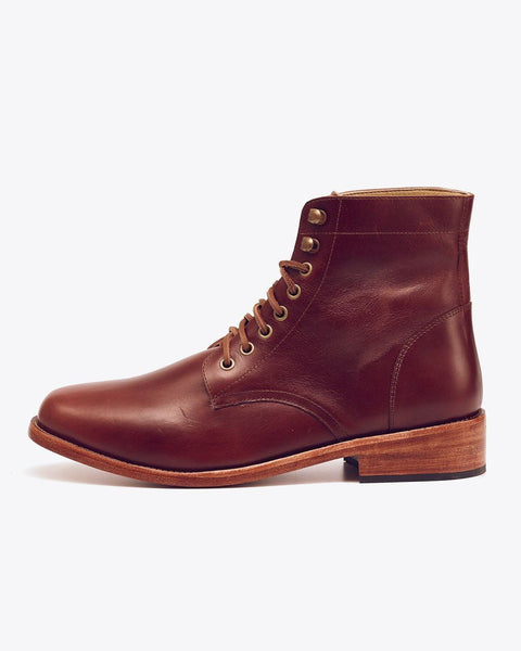 Lockwood Trench Boot Brandy