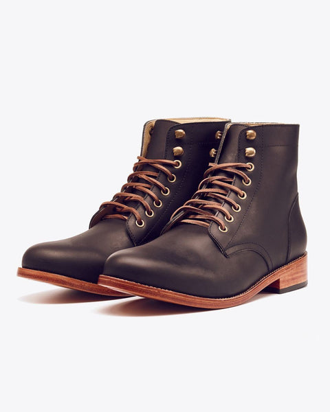 Lockwood Trench Boot Black