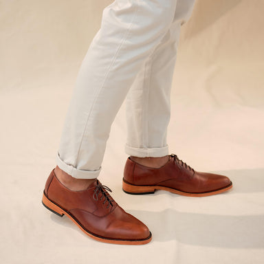 Nisolo - Calano Oxford Brandy