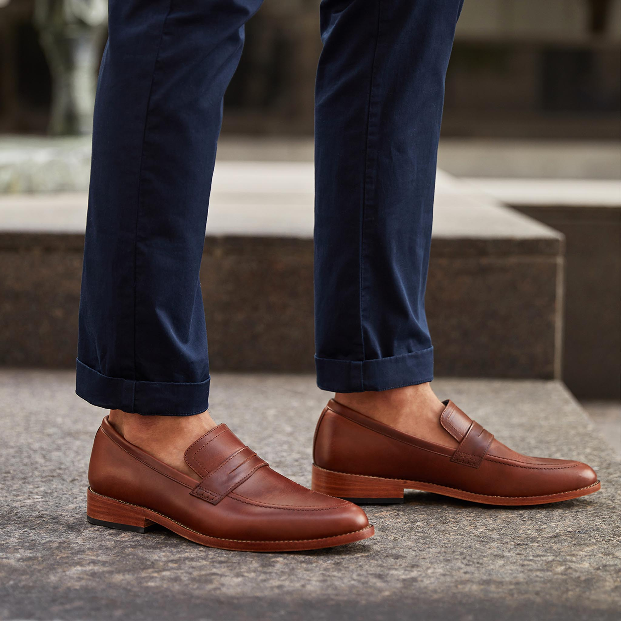 Nisolo - Chamberlain Penny Loafer Brandy