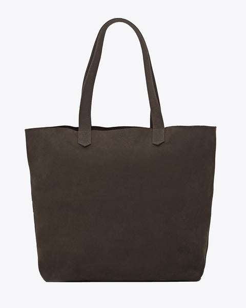 Lori Tote Steel Leather Handbag - unlined Nisolo